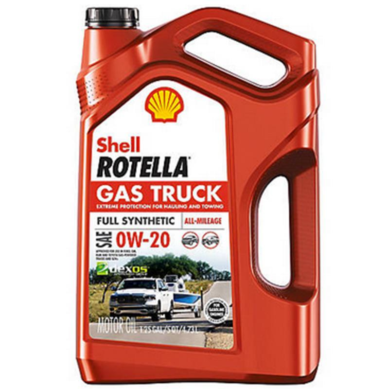 Rotella Gas Truck Motor Oil 0w20 Full Synthetic