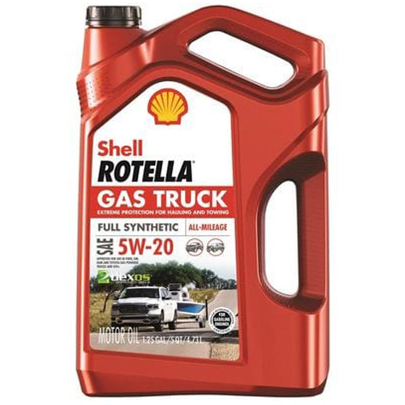 Rotella Full Synthetic 5w- 20 5 Quart Engine Oil