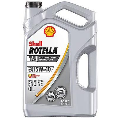 Rotella T5 15W-40 Synthetic Blend - 1 Gallon