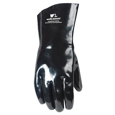 Unisex Neoprene Lined Gloves - Black