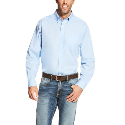 Men's Wrinkle Free Solid Shirt