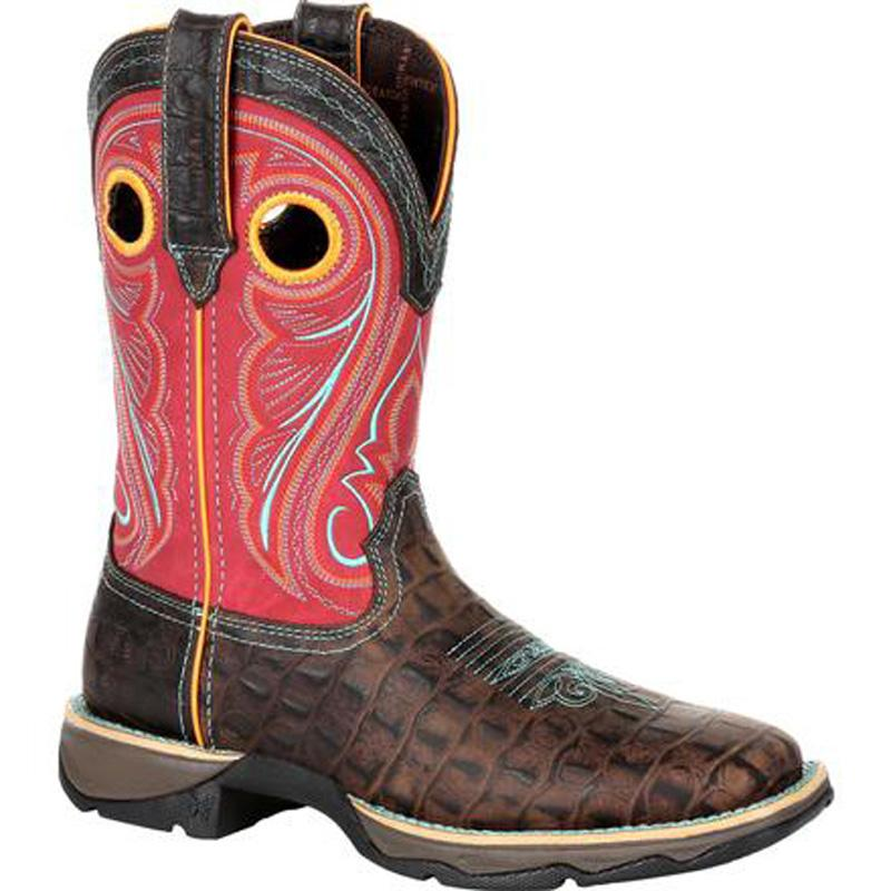 Lady Rebel Women's Gator Emboss Boot