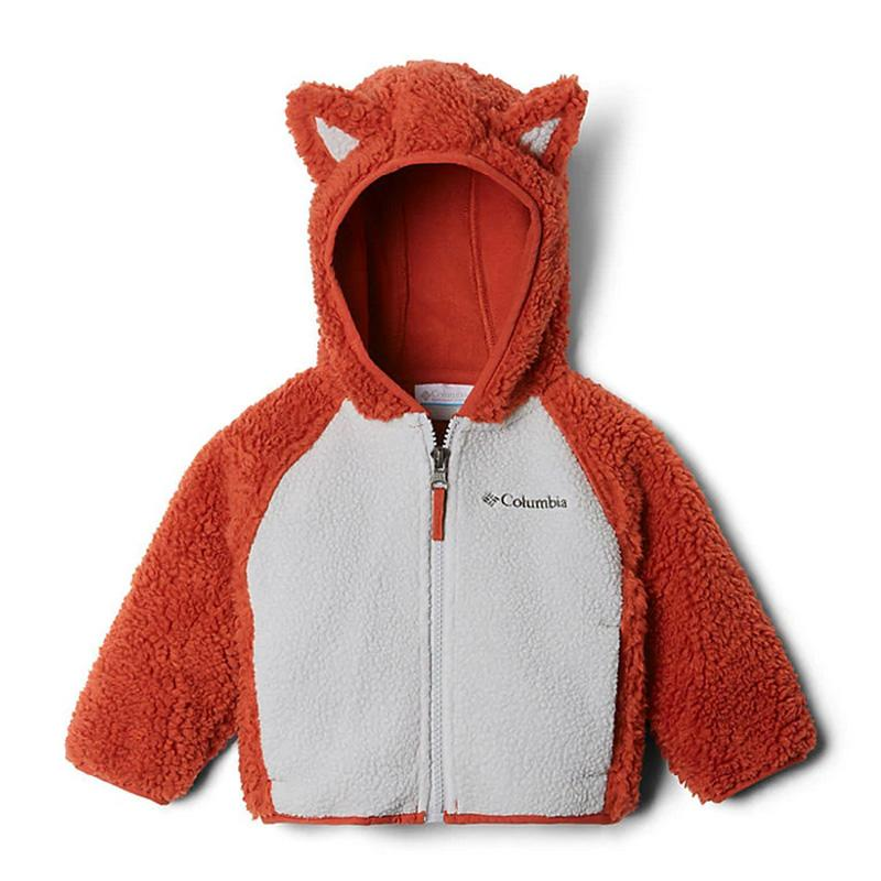 Infant Foxy Baby Sherpa Full- Zip Jacket