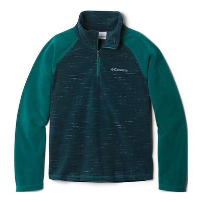 Boy's Glacial III Fleece Printed Half Zip Sweatshirt