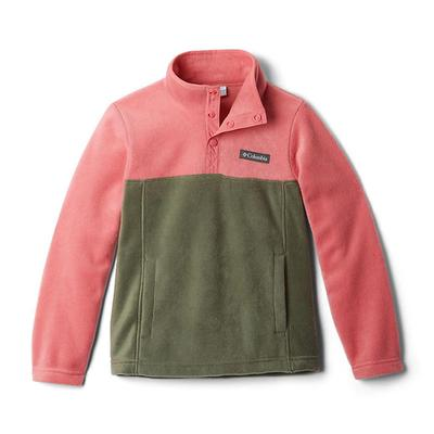 Kid's Steens Mountain 1/4 Snap Fleece Pull-Over