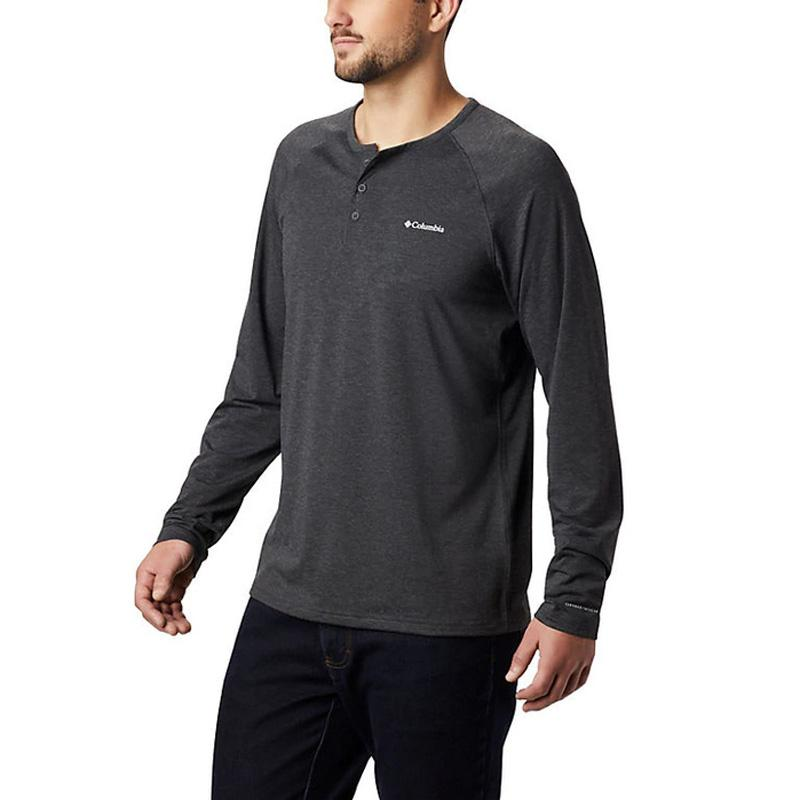 Men ' S Trail Shaker Iii Long Sleeve Henley Shirt