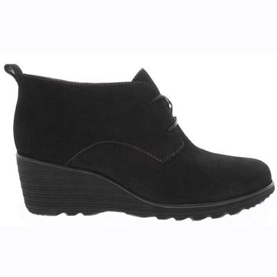 Women's Cadee Black Nubuck Shoe