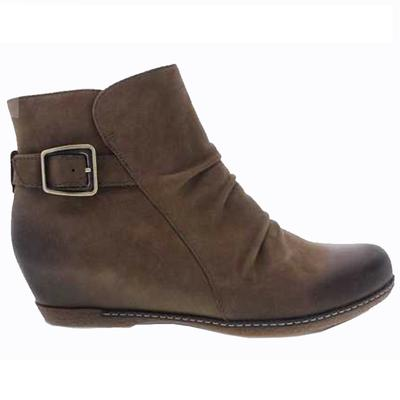 Women's Lia Mushroom Burnished Nubuck Shoe