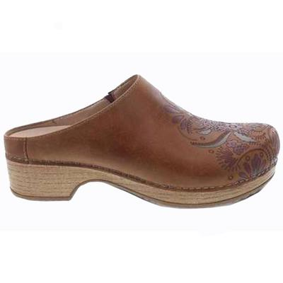 Women's  Brenda Tan Waxy Burnished Clog