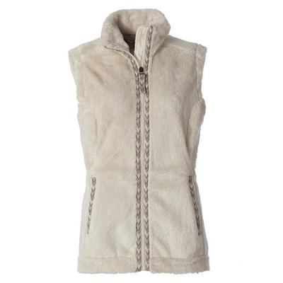 Women's Samoyed Fleece Vest