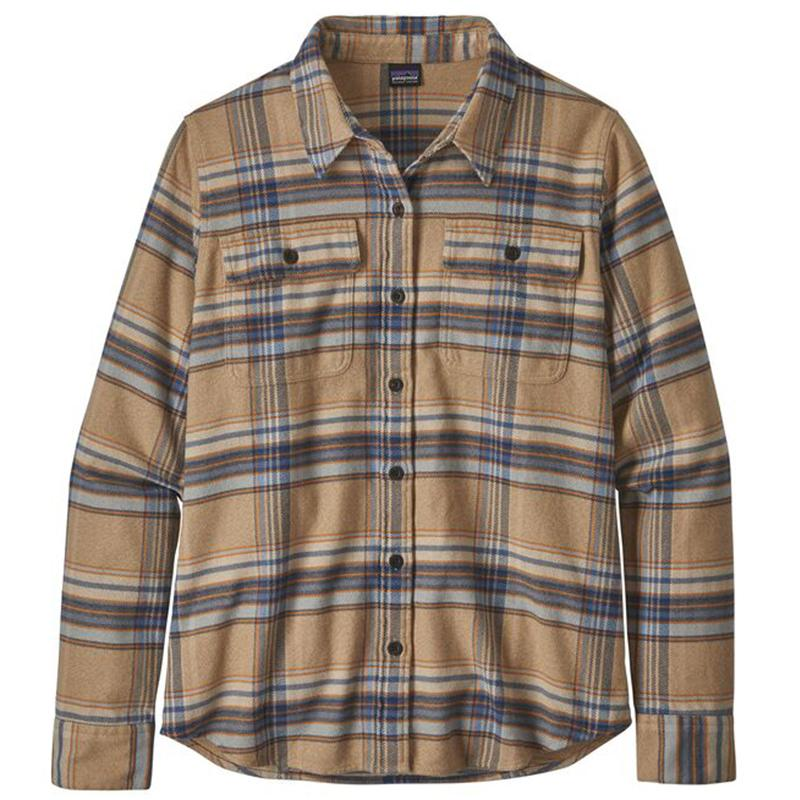Women's Long- Sleeved Fjord Flannel Shirt