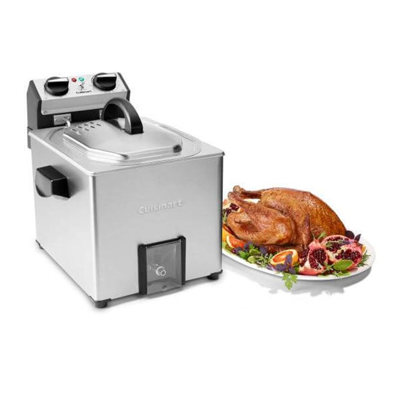 Extra- Large Rotisserie Fryer And Steamer