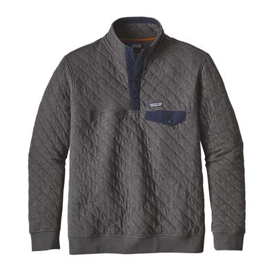 Men's Organic Cotton Quilt Snap-T® Pullover