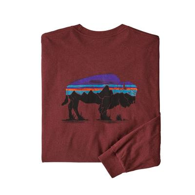 Men's Long-Sleeved Fitz Roy Bison Responsibili-Tee®