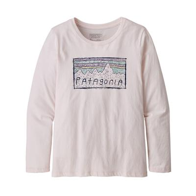 Girl's Long-Sleeved Graphic Organic Cotton T-Shirt