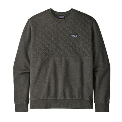Men's Organic Cotton Quilt Crewneck Sweatshirt