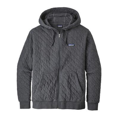 Men's Organic Cotton Quilt Hoody