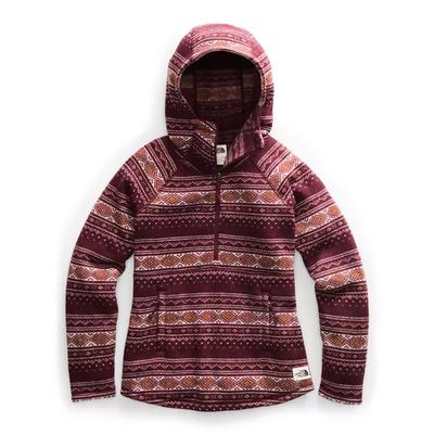 Women's Printed Crescent Hooded Pullover