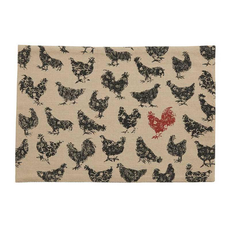 Hen Pecked Placemat