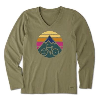 Women's Clean Mountain Bike Long Sleeve Crusher Vee