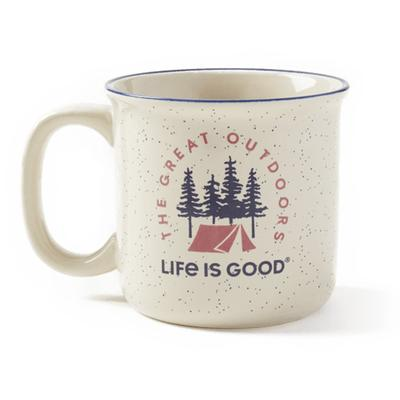 Adventure Awaits Happy Camper Mug