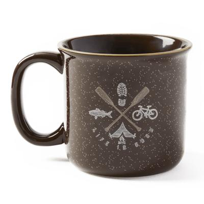 Outdoor Elements Happy Camper Mug