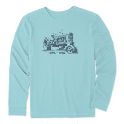 Men's Keepin' It Rural Long Sleeve Crusher Tee