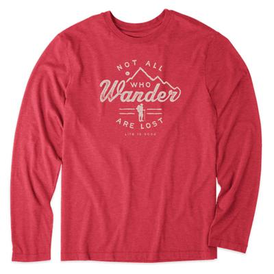 Men's Wander Hike Long Sleeve Cool Tee