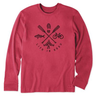 Men's Outdoor Elements Long Sleeve Crusher Tee