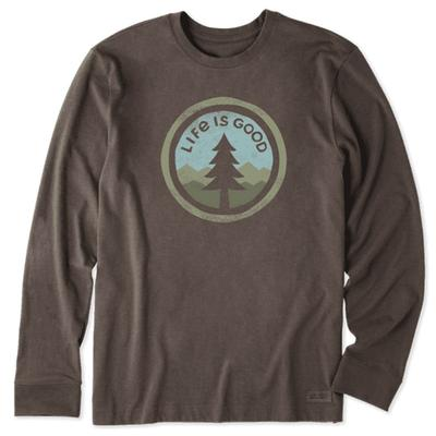 Men's Tree Coin Long Sleeve Crusher Tee
