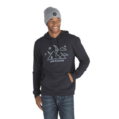 Men's Moon Scenic Simply True Hoodie