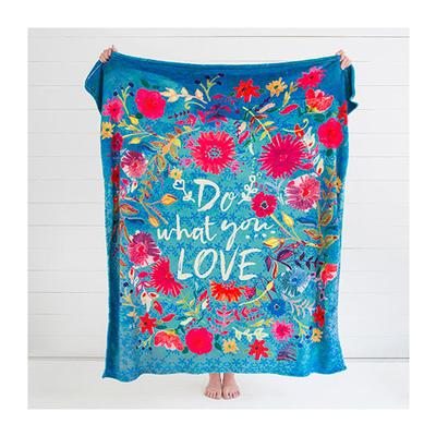 Do What you Love Cozy Blanket