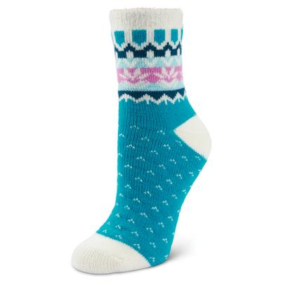 Women's Fireside Fairisle Cuff Crew Socks