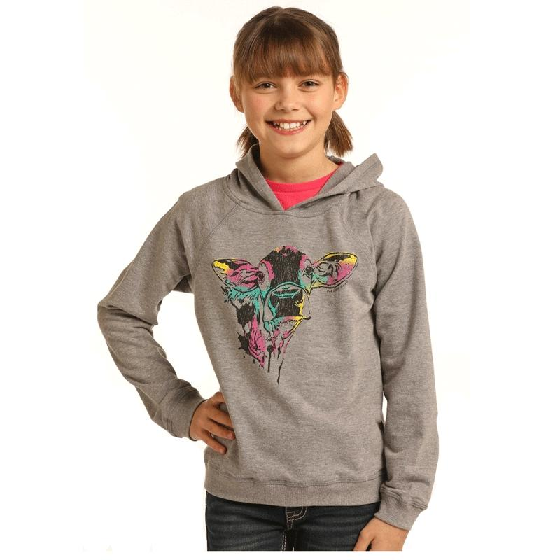 Girl's Graphic Hoodie