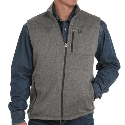 Men's Sweater Knit Fleece Vest