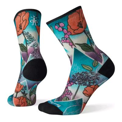 Women's PhD Pro Endurance Print Crew Socks