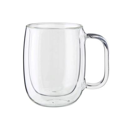 Sorrento Plus Double-Wall Glass Coffee Mug