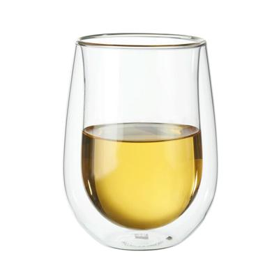 Sorrento Double-Wall Stemless White Wine Glass