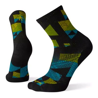 PhD Run Light Elite Print Crew Sock