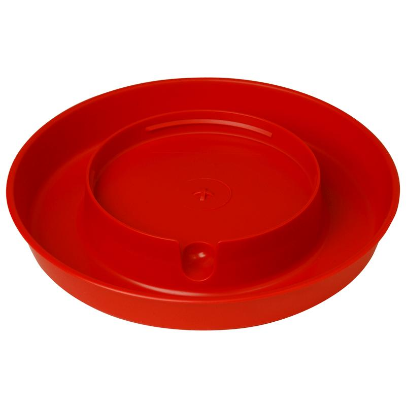 Plastic Screw- On Poultry Waterer Base