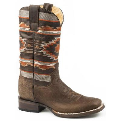 Women's Brown Goat Vamp Shaft