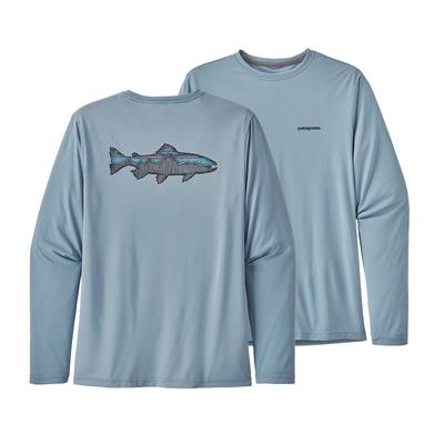 Men's Capilene Cool Daily Fish Graphic Shirt