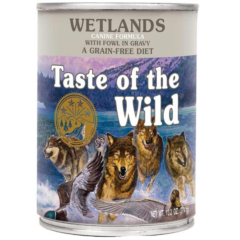 Wetlands Grain- Free Canned Dog Food
