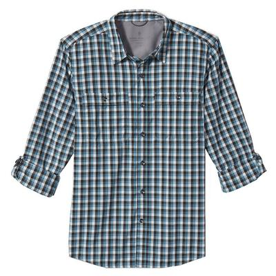 Men's Vista Dry Plaid Long Sleeve