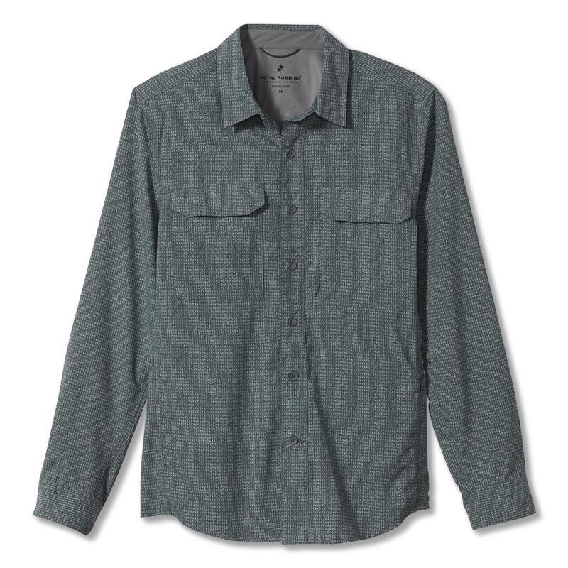 Men's Global Expedition Print Long Sleeve