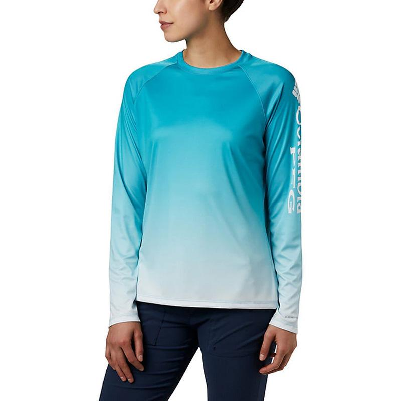 Women ' S Pfg Super Tidal Tee Long Sleeve
