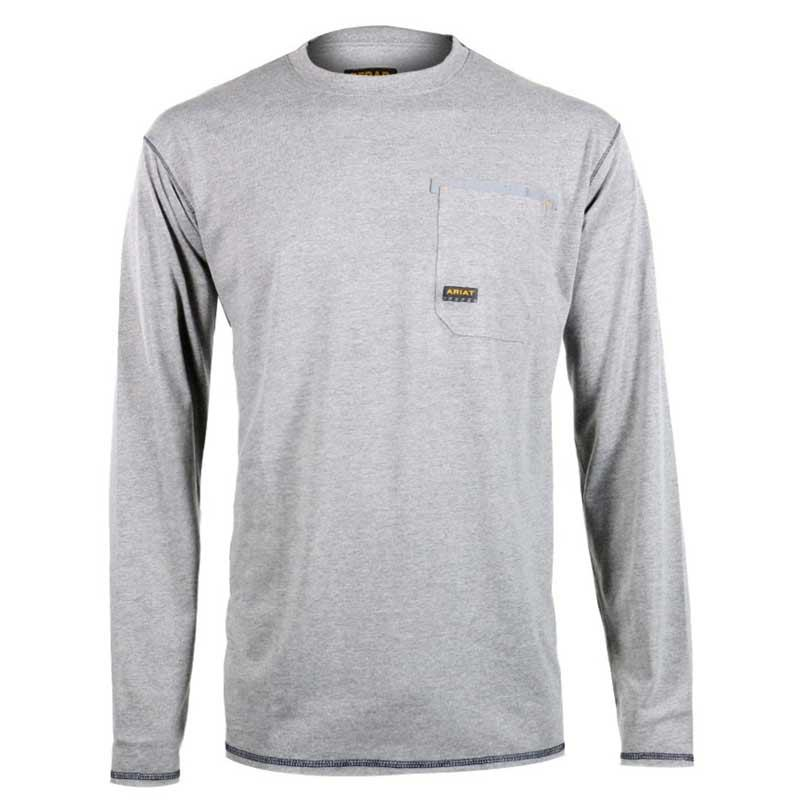 Men's Rebar Crew Long Sleeve Shirt