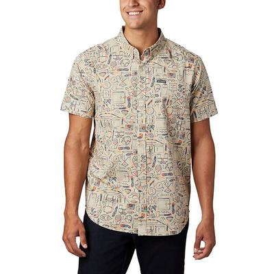 Men's Rapid Rivers Printed Short Sleeve Shirt