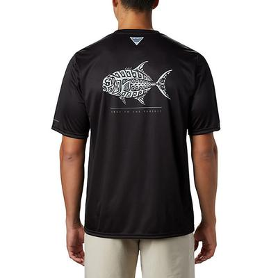 Men's PFG Terminal Tackle Tribal Fish Short Sleeve Shirt
