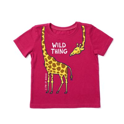 Toddler Wild Thing Giraffe Crusher Tee